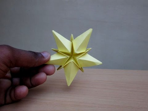 How to Make Paper a Jingle Christmas Star - Easy Tutorials