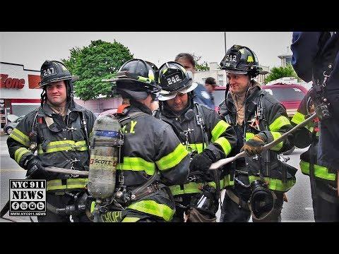 FDNY BOX 2825: 2 Hurt in Bensonhurst kitchen fire
