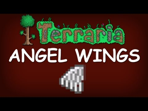 How to make angel wings in terraria xbox -