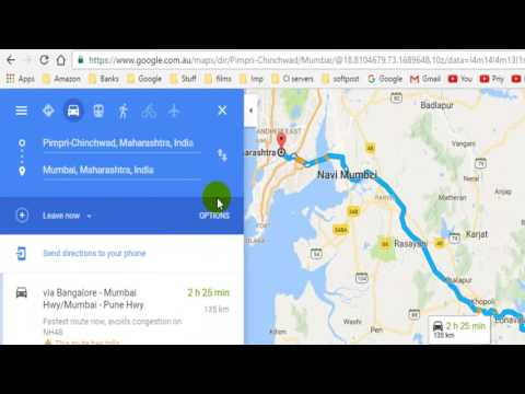 How to avoid highways in Google maps
