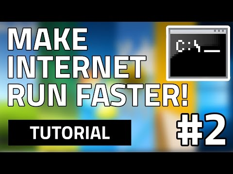#2 How To Make Your Internet Speed Faster For Free (Using CMD) HD