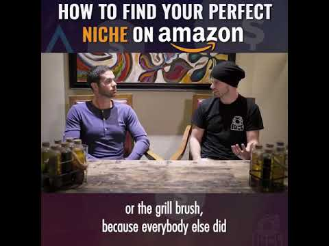 FINDING NICHE ON AMAZON AND EBAY ALSO .