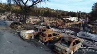 Santa Rosa Fires  Drone Video by Douglas Thron - NOVEMBER 24 - Fountaingrove