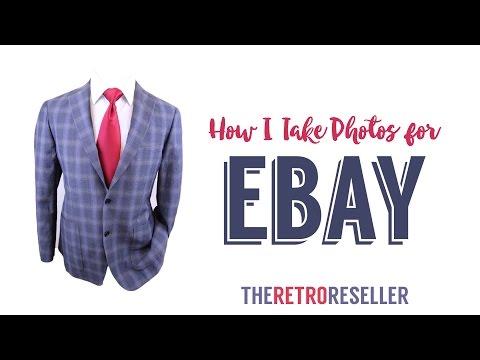How I Photograph Items for EBAY | Good Photos Make Good Money