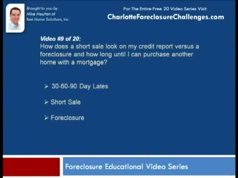 How does a Foreclosure effect your credit?