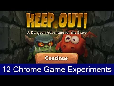 12 Google chrome game experiments you should try