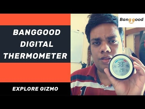 Banggood India: Multifunctional Digital Room Temperature Thermometer [ Hindi ] | Explore Gizmo