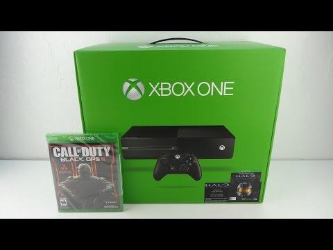 XBoxOne And Call Of Duty Black Ops 3 Unboxing!