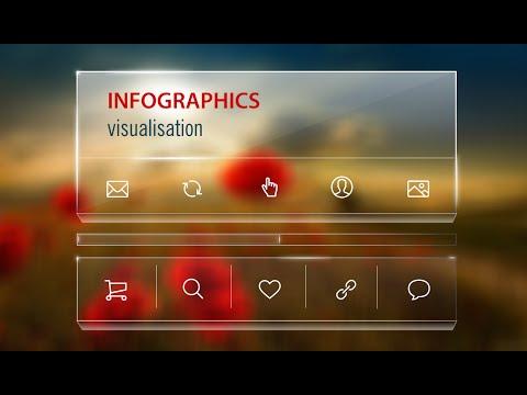 Illustrator Tutorial | 3D Transparent Graphic Design