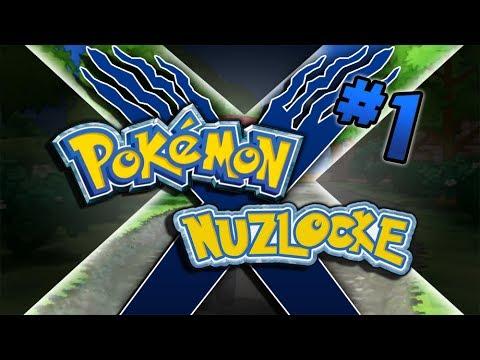 Pokemon X Nuzlocke Part 1 - Dylon Show