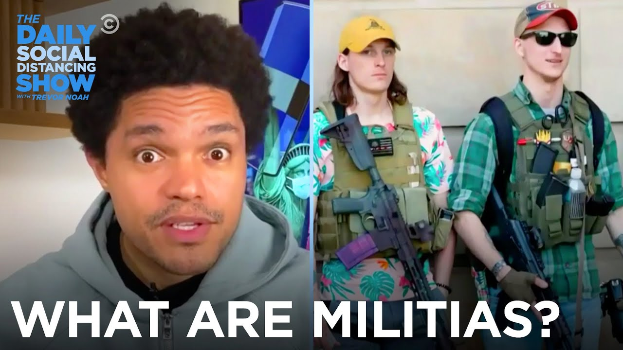 So You Think You Know What Militias Are? | The Daily Show