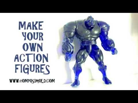 Make Your Own Plastic Action Figure with ComposiMold