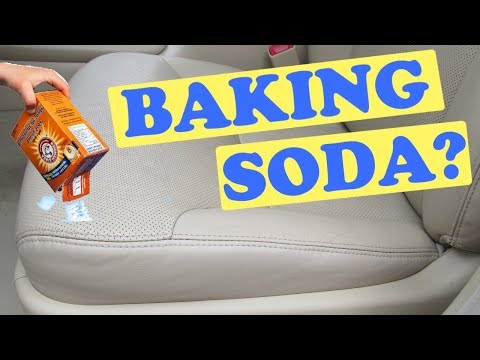 Cleaning Your Car with Baking Soda