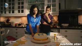 Güneşi Beklerken 15.Bölüm ZeyKer Pasta Yapıyor
