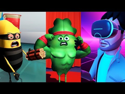 Making Virtual Reality Skits! - Mindshow Gameplay - VR HTC Vive Pro