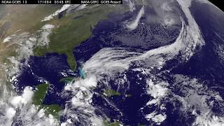 Satellite Animation Shows Tropical Storm Nate in Northwestern Caribbean