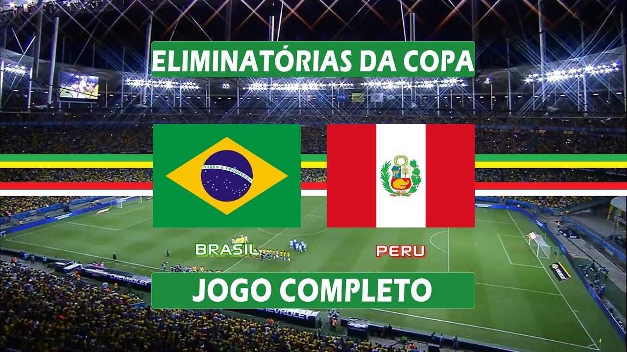 Brasil x Peru - Jogo Completo - Eliminatórias da Copa 2018 (17/11/2015)