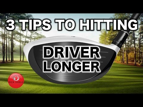 3 SIMPLE TIPS TO HIT YOUR DRIVER LONGER!