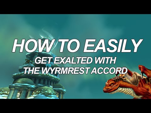 How to Easilly Get Exalted with the Wrymrest Accord (Red Drake Mount!)