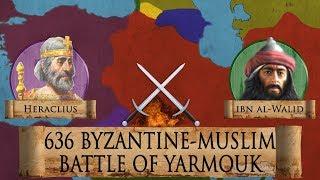 Battle of Yarmouk 636 (Early Muslim Invasion) DOCUMENTARY