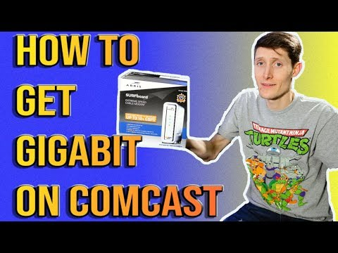 How To Get Gigabit With Comcast or Cox with SB8200 Docsis 3.1 Modem