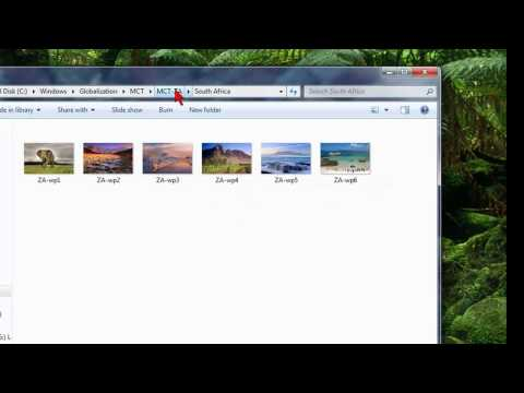 How To Find Secret Hidden Backgrounds And Themes In Windows 7