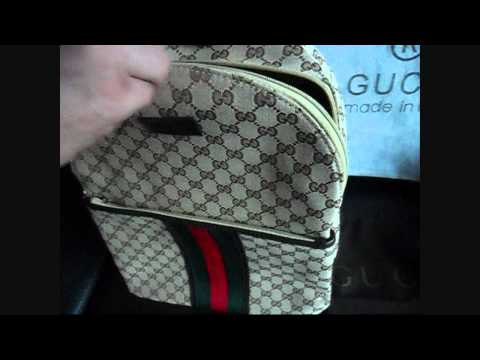 Gucci backpack Authentic bag FULL HD Enjoy my video