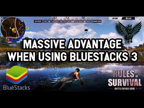 Bluestacks 3 advantage over your competition in Rules of Survival first shooter game