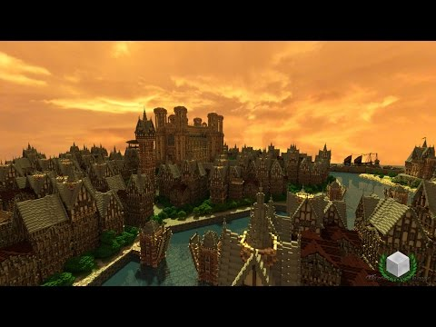 Minecraft Timelapse - Prospero the Canal City