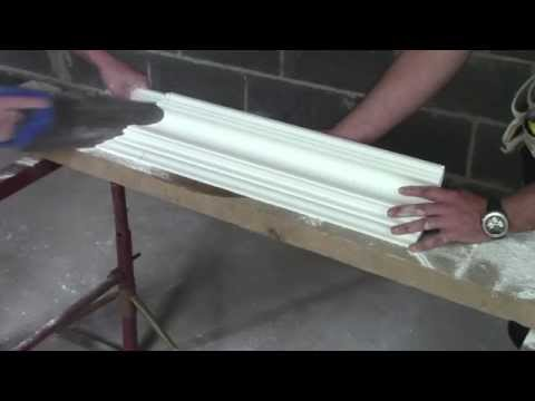 Plaster Coving Installation - How To Cut An External Mitre