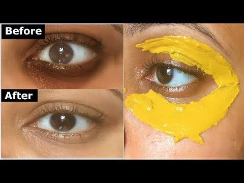 Turmeric Eye mask to Remove DARK CIRCLES, Under Eye wrinkles & under eye bags