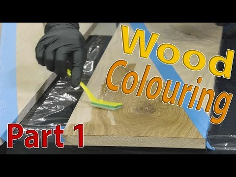 Wood Floor Coloring - Part 1 | Iron Acetate, Rubio Fumed & Smoke, and Antique Lye on White Oak