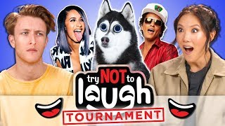 Try To Watch This Without Laughing or Grinning #108 ft. Ally Maki