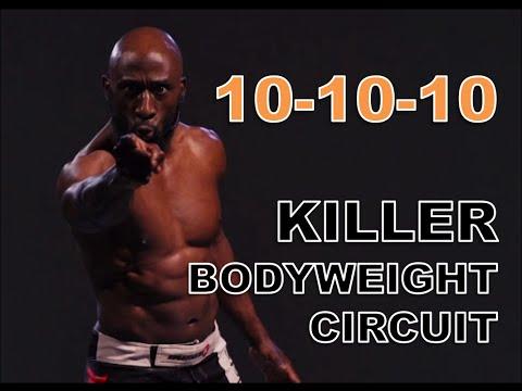 10 Minute Bodyweight Circuit