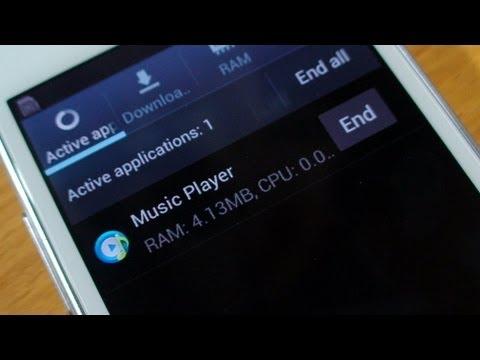 Closing Apps on Samsung Galaxy S3 Mini