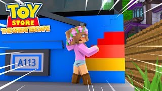 LITTLE KELLY DOLL MAKES THE GREAT ESCAPE! Minecraft Toystore