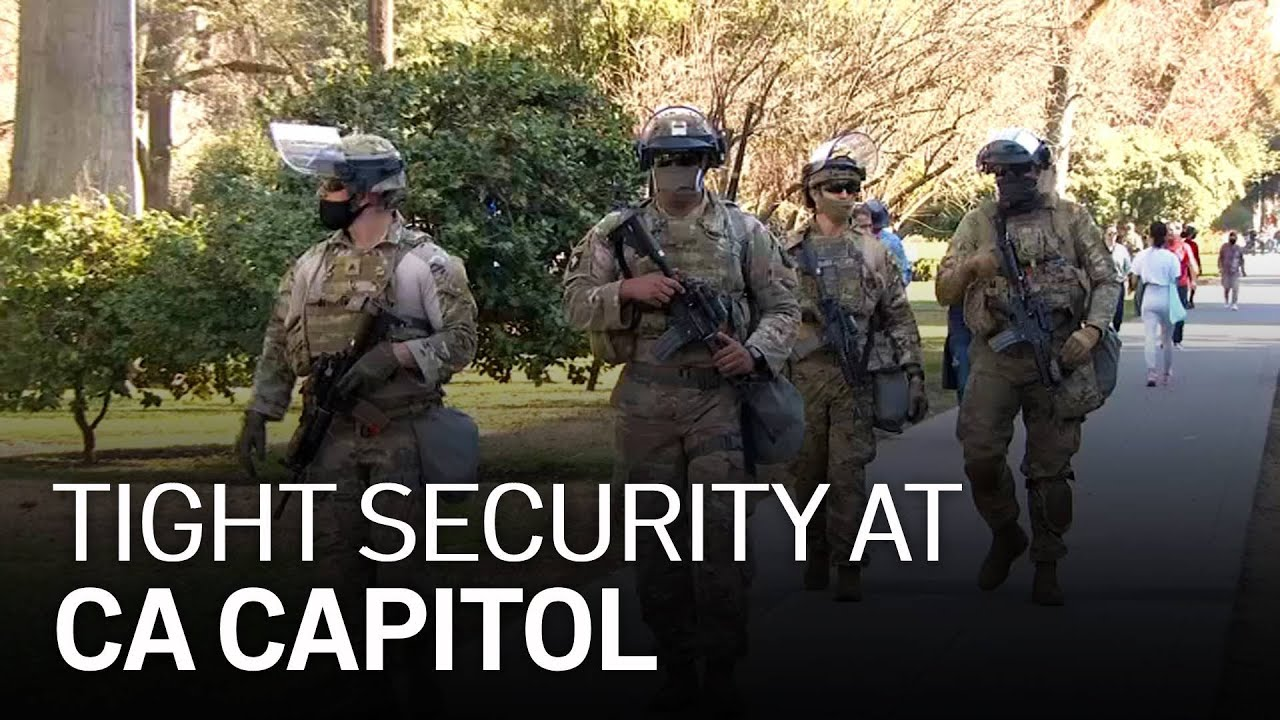Tight Security at California Capitol Amid Possible Protests