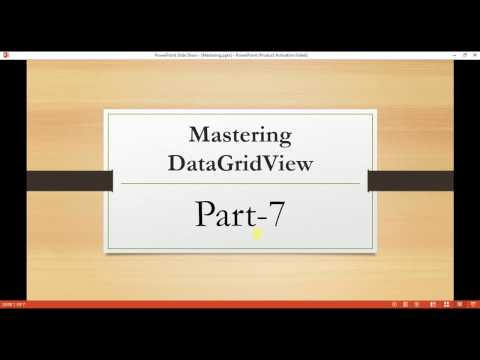 Mastering DataGridView Part-7 || How to Change the color of DataGridView row based on Condition