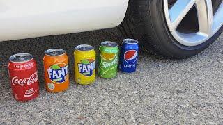 EXPERIMENT: FANTA VS CAR
