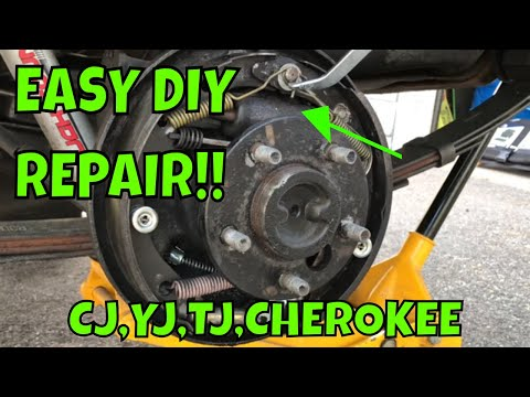 How To Replace a Jeep Wrangler CJ or Cherokee Wheel Cylinder