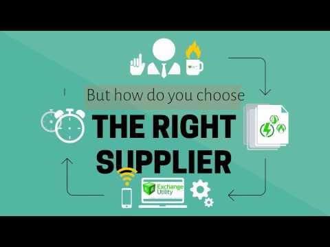 Choosing the best energy supplier