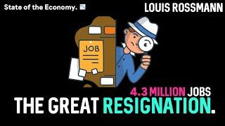 Why are record numbers of Americans leaving their jobs?