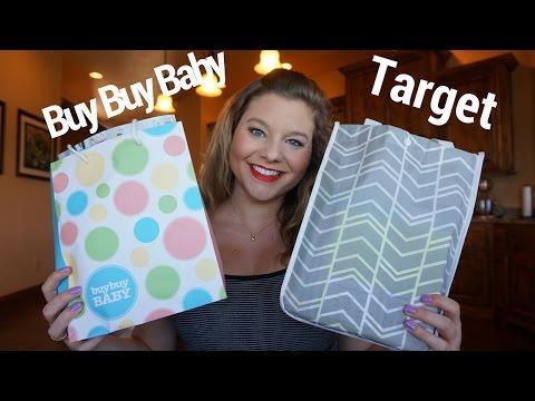 Registry Gift Bags: Target & Buy Buy Baby