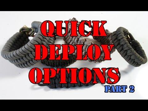 Rock Paracord - Quick Deploy Options Part 2 - Key Chain