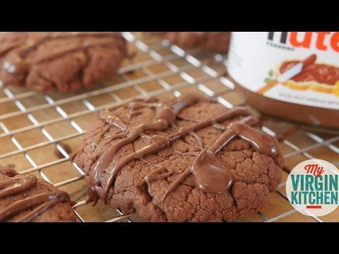 NUTELLA COOKIES - 3 INGREDIENTS