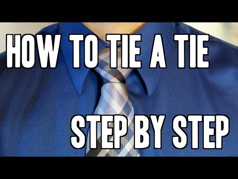 How to Tie a Full Windsor Knot Step By Step