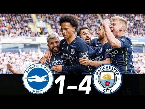Брайтон - Манчестер Сити 1-4 обзор матча на русском 2019