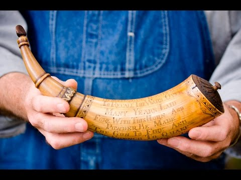 Card Scraping a Powder Horn with Mark Thomas (Workshop Tour Part 3)