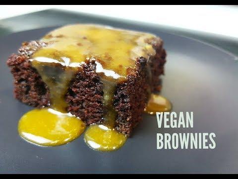 FUDGY CHOCOLATE BROWNIES (VEGAN) - CookingwithKarma