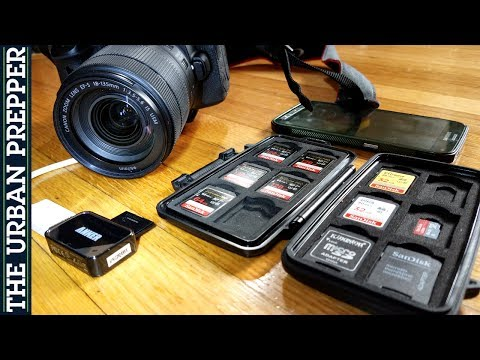 SD Card Data Backup (On-The-Go Filming)